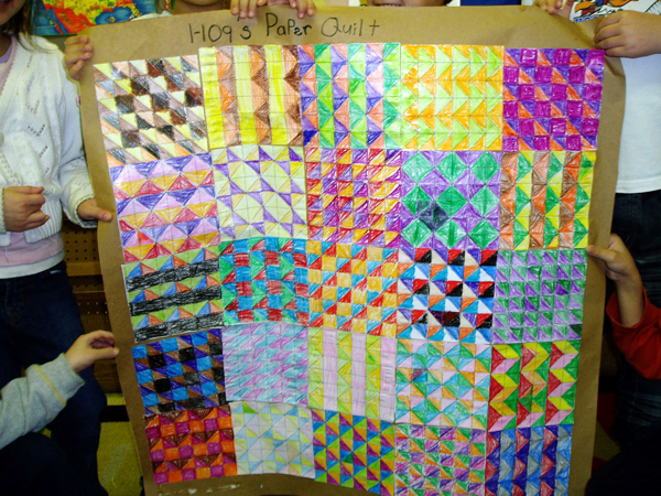 TeachNet | Lesson Plan | The Keeping Quilt: Quilting Across the ... : quilting with paper - Adamdwight.com